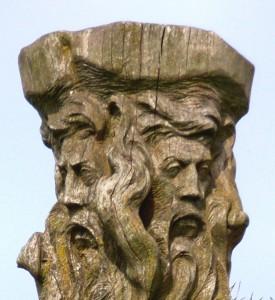 Svantevit-Statue-Kopf-Ausschnitt